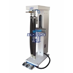 PNEUMATIC VERTICAL SYSTEM RODEO FINISHING MACHINE