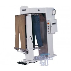 REVOLVING SYSTEM TROUSERS TOPPER WITH DOUBLE STATIONS