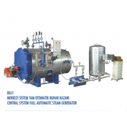 CENTRAL SYSTEM FULL AUTOMATIC STEAM GENERATOR