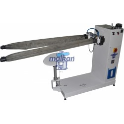 PNEUMATIC HORIZONTAL TYPE RODEO FINISHING MACHINE