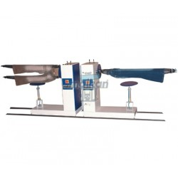 RAIL SYSTEM HORIZONTAL TYPE DOUBLE RODEO FINISHING MACHINE